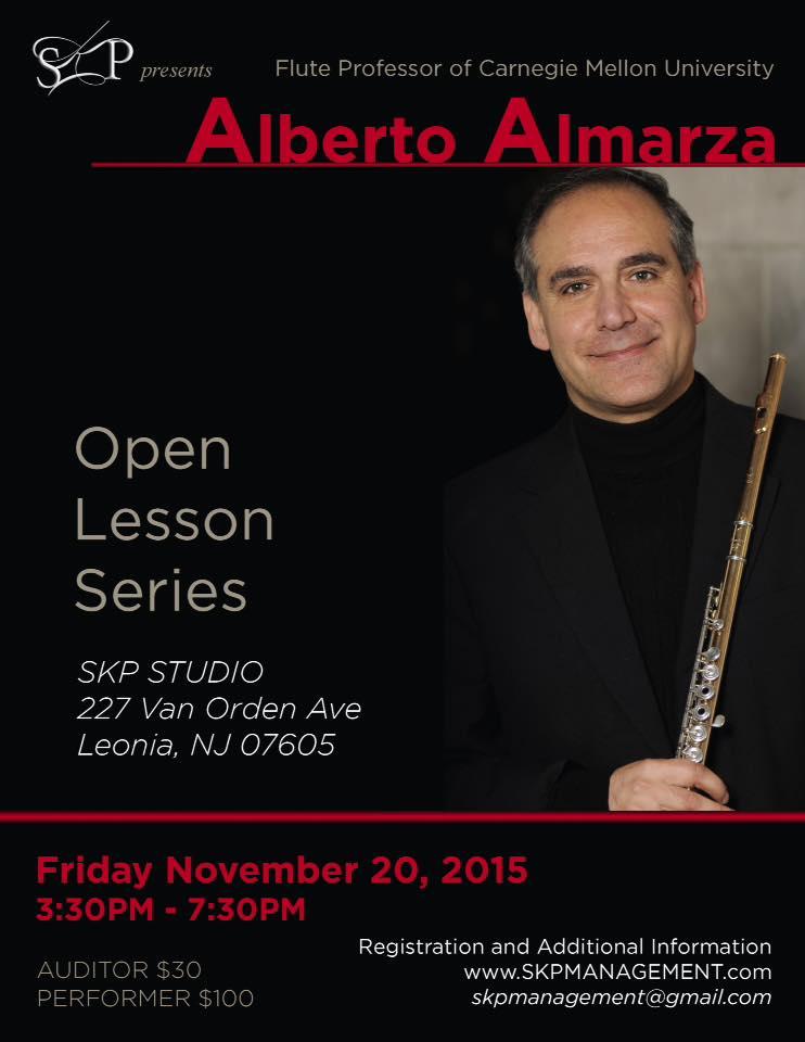 Alberto Almarza in NYC